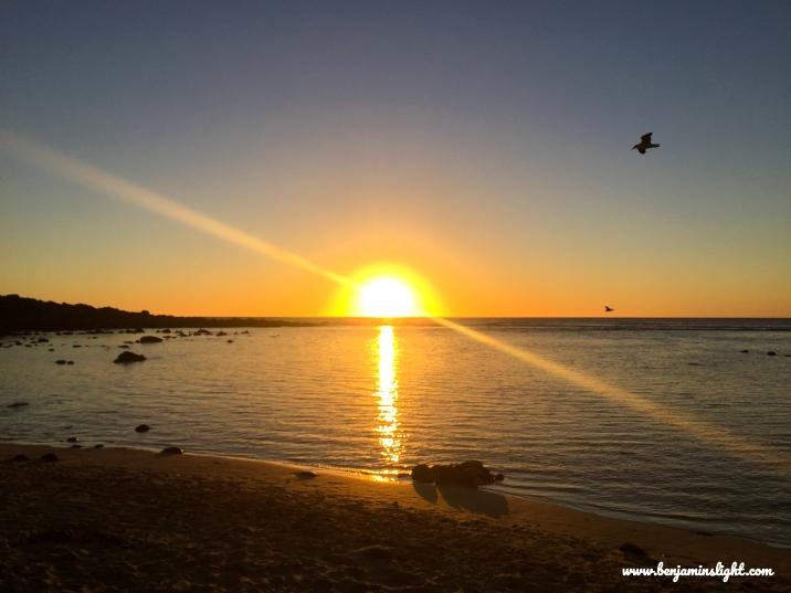 Benjamin's Sunset 04.03.2018 4 Blog